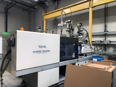 1997 Toyo TM-200H Used Injection Molding Machine